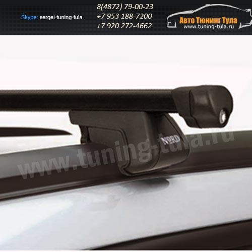 Багажник универсальный NORD Integra с замком, на низкий рейлинг/арт.340-6