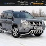 Защита переднего бампера d60,3/75 мм Ниссан X-trail T31 2011+