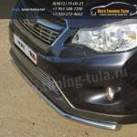 Защита переднего бампера d42,4 мм Subaru XV 2012+
