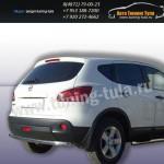 Защита задняя труба d57 Nissan QASHQAI