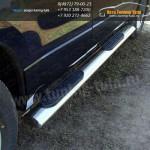 Подножки/Пороги овальные d120x60 мм Suzuki Grand Vitara 2012+