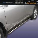 Пороги труба d57 Lexus RX-350 2009г