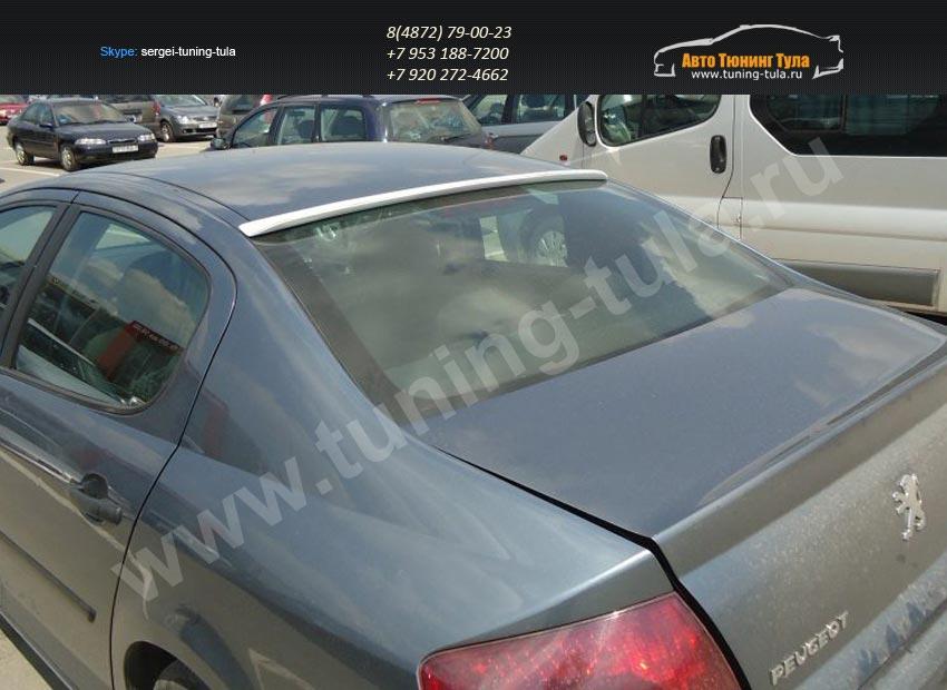 Спойлер / козырек заднего стекла Peugeot 407 2004-2010 /арт.648-1