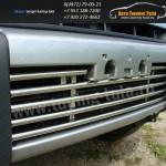 Накладки на решетку бампера d16 Mitsubishi Pajero IV