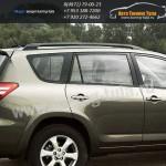 Рейлинги/алюминиевые наконечники Тойота RAV4 (длинная база) 2006г