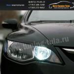 Накладки фар/ресницы/Хонда Цивик /Civic Type R 2007-09г.в