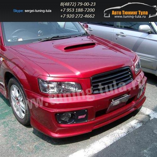 Накладки фар/ресницы/Subaru Forester SG 5,9 2002-2007/арт.627-22