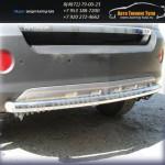 Защита задняя труба d57 Opel Antara 2007+