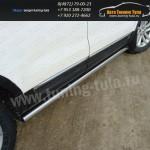 Пороги/подножки труба d76 Ford EXPLORER 2012+