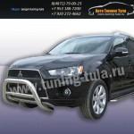 Защита передняя кенгурин d76 Mitsubishi Outlander 2010