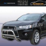 Защита передняя кенгурин d57 Mitsubishi Outlander 2010