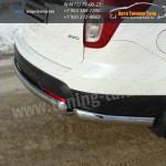 Защита бампера d75x42+уголки овальные d75x42 Ford EXPLORER 2012+