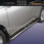 Пороги труба d76 Lexus RX-350 2009г