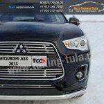 Защита бампера передняя d60,3 Митсубиши ASX 2013+