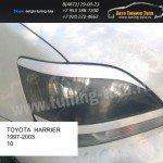 Накладки фар/ресницы/ Toyota Harrier 1997-2003/Lexus RX I