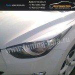 Накладки фар/ресницы/Hyundai Elantra-Avante/Хенде Элантра с 2010 г.