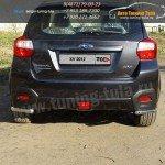 Защита заднего бампера уголки d42,4 мм Subaru XV 2012+