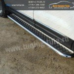Пороги/подножки труба с площадкой d60 Ford EXPLORER 2012+