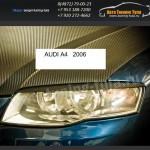 Накладки фар/ресницы/AUDI A4 2006+