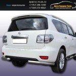 Защита задняя уголки d76 Nissan Patrol c2010г
