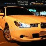 Накладки фар/ресницы/Subaru Impreza GDB 2005-07г.в.