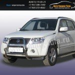 Защита передняя кенгурин d57 Suzuki Grand Vitara 2006+