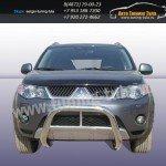 Защита передняя кенгурин d76 Mitsubishi Outlander XL