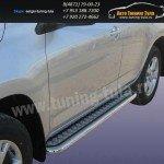 Пороги с листом d57 Lexus RX-350 2009г