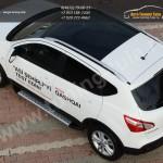 Пороги/подножки Olympos Nissan QASHQAI/Кашкай +2