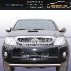 Защита передняя труба d76 Toyota Hilux 2012+  /294-2