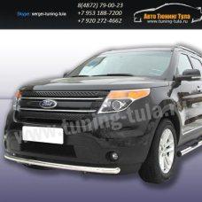 Защита передняя d57  Ford Explorer 2012+   /294-56
