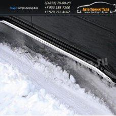 Пороги труба d42 Mitsubishi Pajero Sport 2008+  /294-90