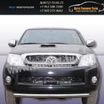 Защита передняя труба d76 Toyota Hilux 2012+