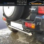 Защита задняя труба d57 Suzuki Jimny