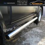Пороги труба d76 Suzuki Jimny
