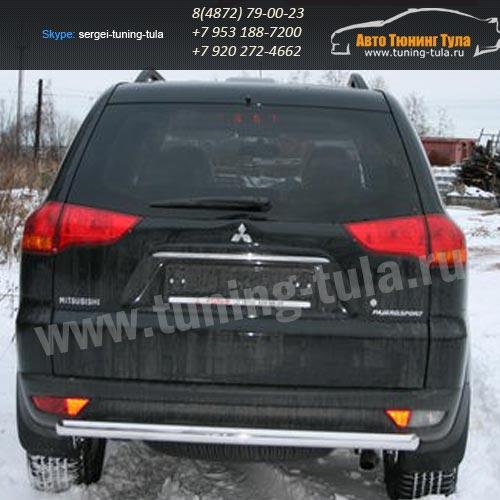 Защита задняя d60 Mitsubishi Pajero Sport 2008+  /295-4