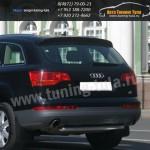 Защита задняя труба  d60  Audi Q7 2006-09г