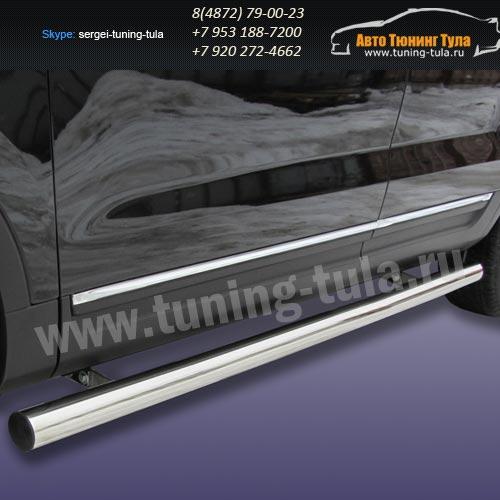 Пороги труба d76 Ford Explorer 2012+   /294-58