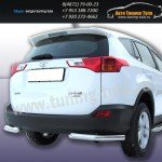 Защита задняя уголки d76 Toyota RAV-4 2013