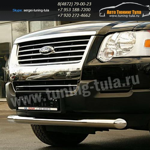 Защита передняя d76 Ford Explorer 2006+   /295-12
