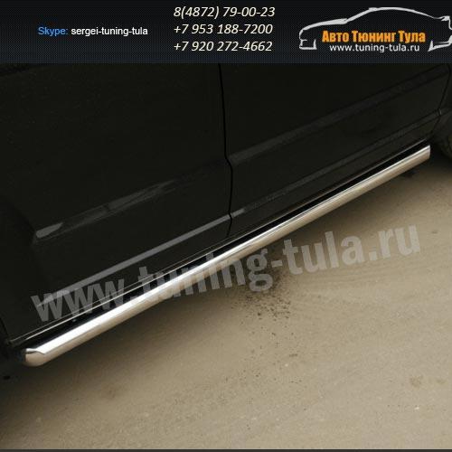 Пороги труба d60 Dodge Caliber 2006+  /294-85