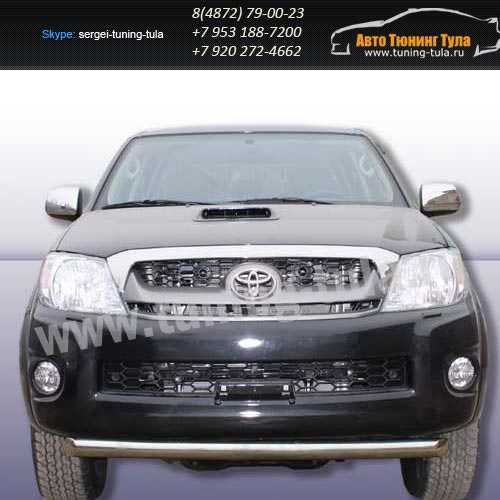Защита передняя труба d57 Toyota Hilux 2012+  /294-3