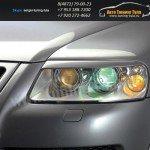 Накладки фар передние /ресницы/ VW TOUAREG 2003 +