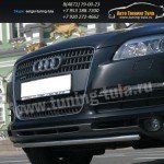 Защита передняя труба d42  Audi Q7 2006-09г