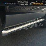 Пороги труба d76  Audi Q7 2006-09г