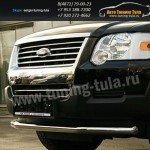Защита передняя d60 Ford Explorer 2006+