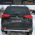 Защита задняя d60 Mitsubishi Pajero Sport 2008+