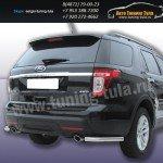Защита задняя уголки d57 Ford Explorer 2012+
