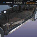 Пороги труба d76 Subaru Forester 2008+