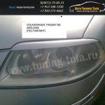 Накладки фар передние /ресницы/ VW PASSAT B5 2000-2005